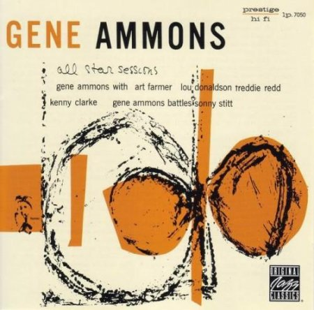 Gene Ammons - All-Star Sessions With Sonny Stitt (1955)
