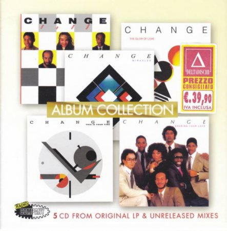 Change - Album Collection [5CD Boxset] (2006)