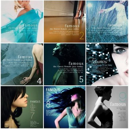 Famous 1-9: The Finest Female Jazz Today (2002-2011) 9CD