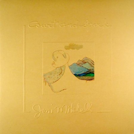 Joni Mitchell - Court And Spark (1974) (LP/24/96)