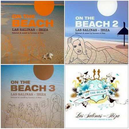 On The Beach 1-4: Las Salinas - Ibiza (2005-2008) 4x2CD