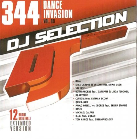 DJ Selection 344 - Dance Invasion Vol. 89 (2012)