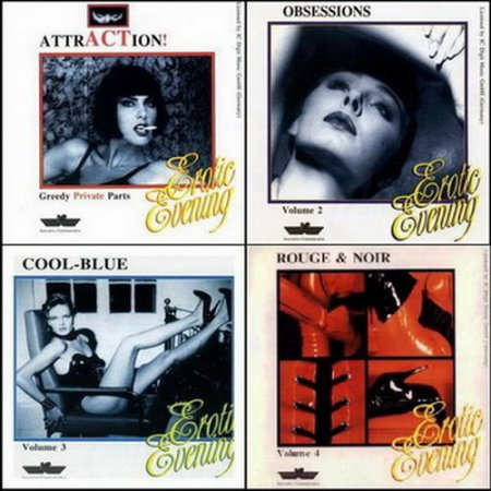 VA - Erotic Evening volume 1-4 (1996)