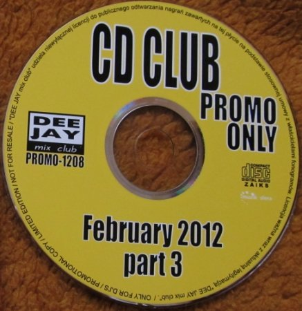 CD Club Promo Only February Part 3 (2012)