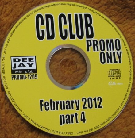 CD Club Promo Only February Part 4 (2012)