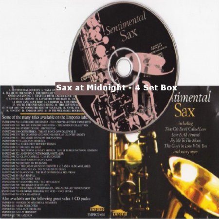Sax at Midnight - 4 Set Box (2000) MP3