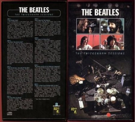 The Beatles - Twickenham Sessions (1969) (8CD)
