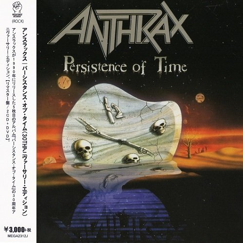 Anthrax - Persistence Of Time (Japan Edition) (2020) lossless